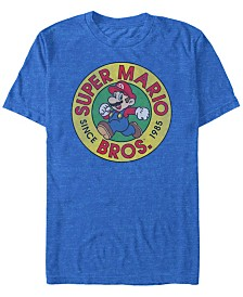Nintendo Men's Super Mario Running Mario Short Sleeve T-Shirt