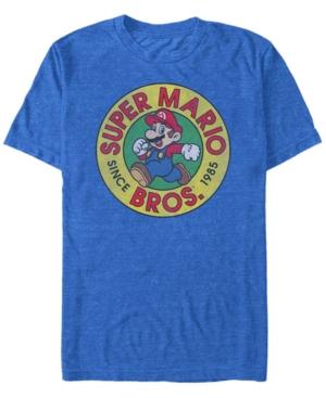 Nintendo Men's Super Mario Running Mario Short Sleeve T-Shirt