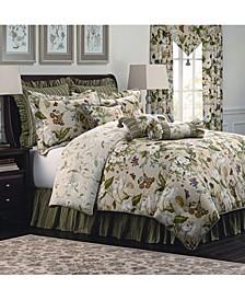 Garden Image 4 Piece Queen Comforter Set