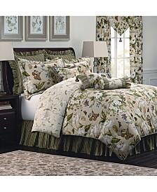 Williamsburg Garden Image 4 Piece Queen Comforter Set