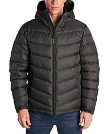 Men's Heather Puffer Jacket
