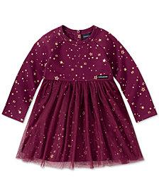 Calvin Klein Toddler Girls Star-Print Fleece Dress