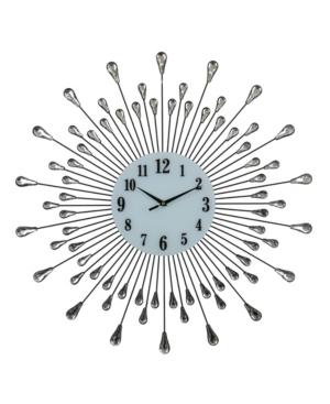 Three Star Droplet Wall Clock