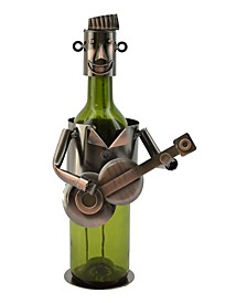 Guitar Player Bottle Holder