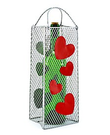 Hearts Gift Bag Bottle Holder