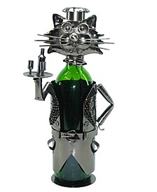 Cat Waiter Wine Bottle Holder