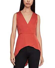 High-Low Peplum Top