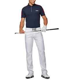 BOSS Men's Paule Pro 2 Slim-Fit Golf Polo Shirt