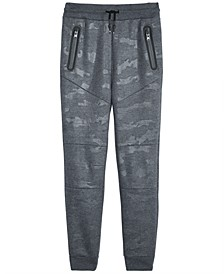 Big Boys Camouflage Moto Joggers, Created for Macy's