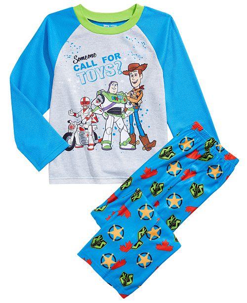 AME Little & Big Boys 2-Pc. Toy Story Pajamas Set