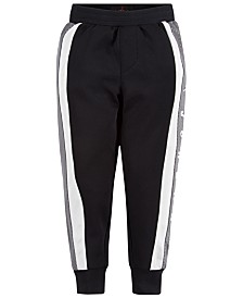 Jordan Little Boys Colorblocked Mesh-Trim Jogger Pants