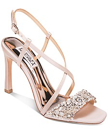 Badgley Mischka Elana Evening Shoes