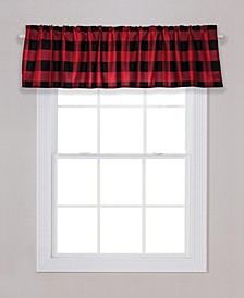 Buffalo Check Window Valance