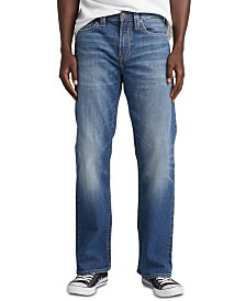 Silver Jeans Co. Men's Craig Easy-Bootcut Fit Stretch Jeans