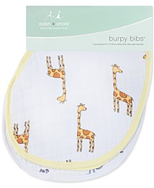 Baby Boys 2-Pk. Jungle Jam Printed Cotton Burpy Bibs