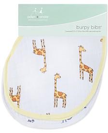 aden by aden + anais Baby Boys 2-Pk. Jungle Jam Printed Cotton Burpy Bibs