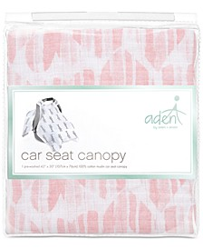 Baby Girls Briar Rose Cotton Car Seat Canopy