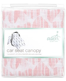 aden by aden + anais Baby Girls Briar Rose Cotton Car Seat Canopy