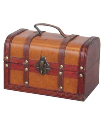 Decorative Leather Small Treasure Box