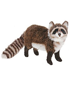 Standing Racoon Plush Toy