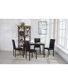 Arjen Collection 5 Piece Dining Set