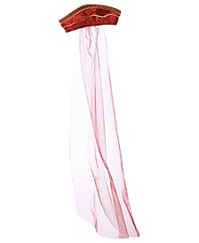 Girl's Princess Anne Headband with Veil