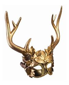 BuySeasons Adult Mythical Creatures Faun Mask