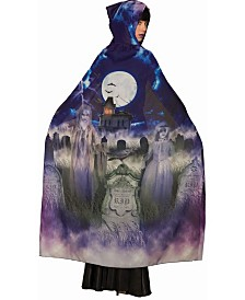 BuySeasons Women's Sublimation Grave and Ghoul Cape