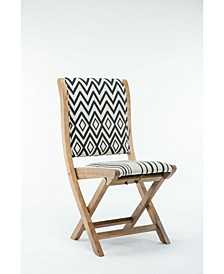 Misty Collection Patterned Folding Chair
