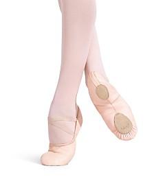 Capezio Little Girls Leather Cobra Ballet Shoe