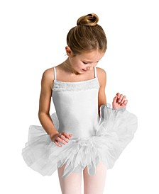 Big Girls Ruffle Yoke Tutu Dress