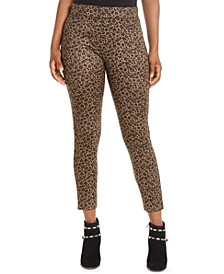 Leopard-Print Leggings, Created for Macy's