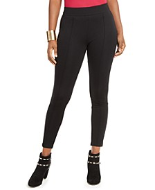 Pintuck Seamed-Front Leggings, Created For Macy's