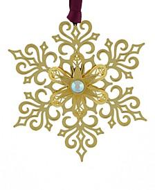 Brilliant Gold Snowflake