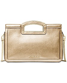Michael Michael Kors Berkley Legacy Leather Clutch