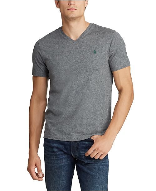 Polo Ralph Lauren Men's Big & Tall Classic Fit V-Neck T-Shirt