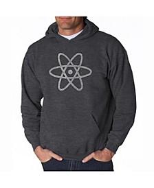 Men's Word Art Hooded Sweatshirt - Atom