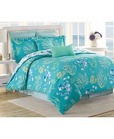 Soho New York Beachcomber 8 Piece Queen Comforter Set