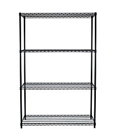 NSF 4-Tier Wire Shelving Rack