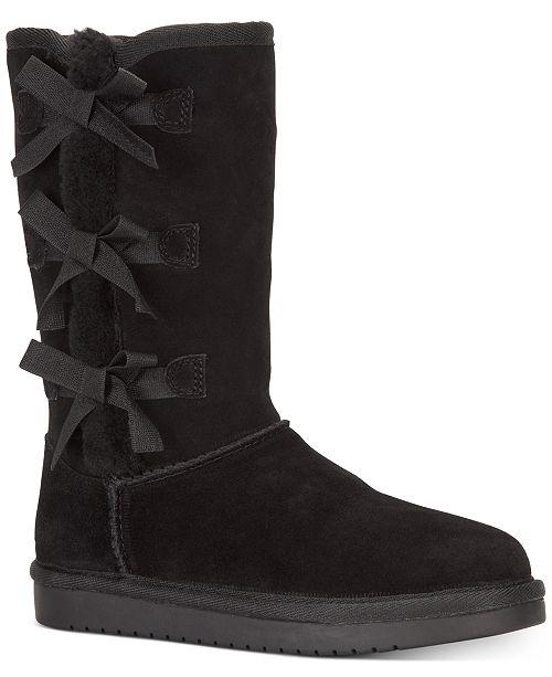 Koolaburra By UGG Big Girls Victoria Boots