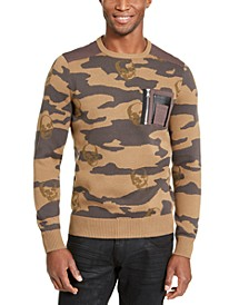 I.N.C Men's Alissa Camo Sweater, Created for Macy's