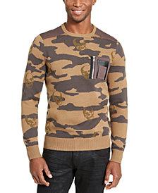 I.N.C Men's Alissa Camo Sweater, Created For Macy's
