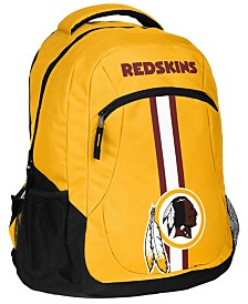 Forever Collectibles Washington Redskins Action Backpack