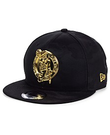 New Era Boston Celtics Stealth Metal 9FIFTY Snapback Cap