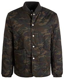 Men's Snap-Up Bomber Jacket