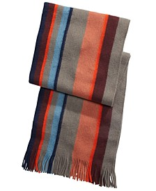 Men's Striped Scarf, Created For Macy's