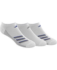 3-Pk. Men's No-Show Socks
