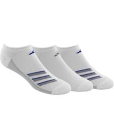 adidas 3-Pk. Men's Superlite No-Show Socks