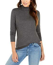 Long-Sleeve Turtleneck Top, Created for Macy's