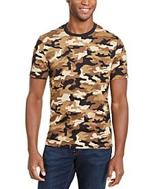 Men's Camo Print T-Shirt